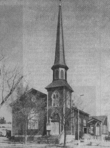 The E Street Church Circa 1930