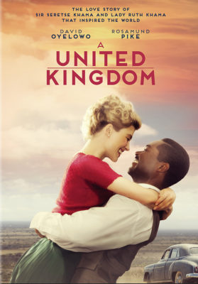 "Movie Night January 26 ""A United Kingdom"" @ DeHaan Center at Pilgrim Park"