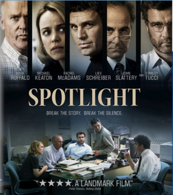 "Movie Night March 2 ""Spotlight"" @ DeHaan Center, Pilgrim Park"